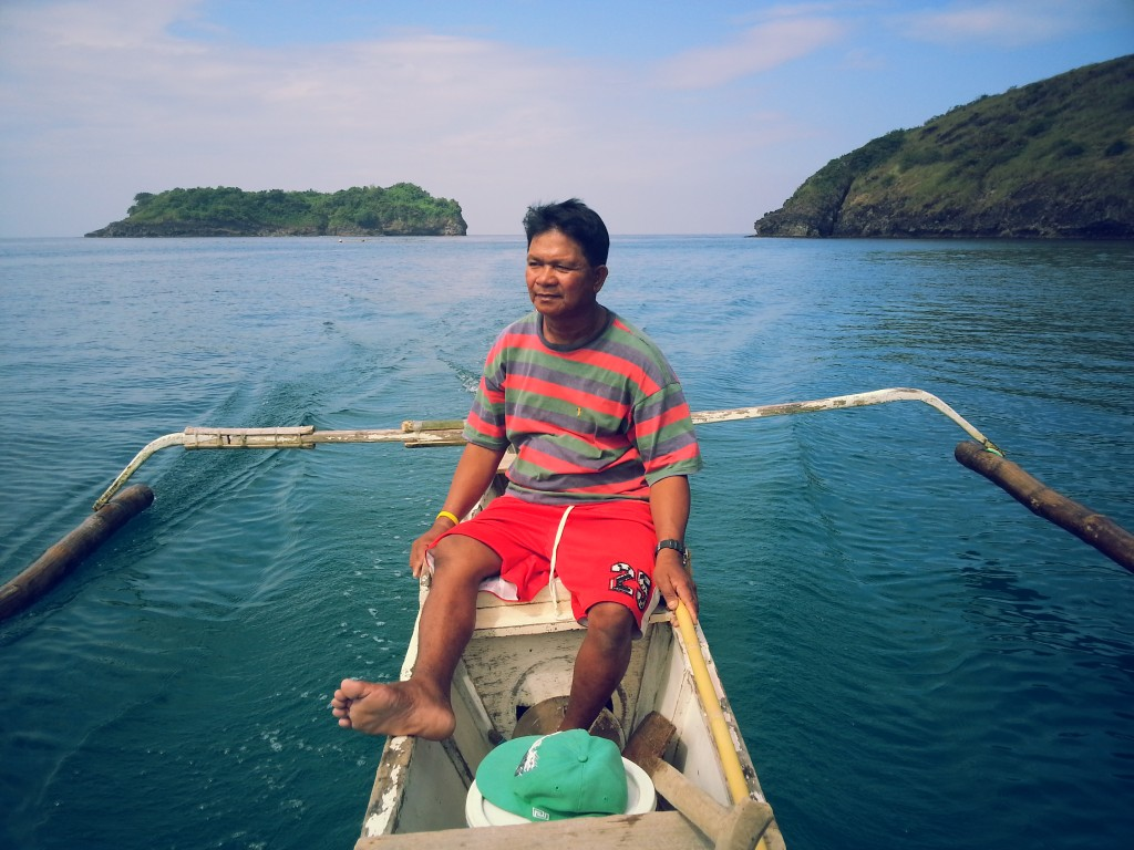 Agapito Perno has six reasons why he left the illegal fishing trade (Photo by CTKNetwork.org)