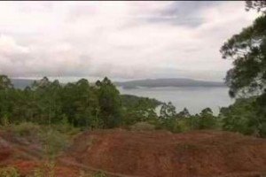 A nickel mining area in Solomon Islands (Photo from ABC News)