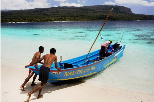 Rapid development, destructive fishing, and climate change all threaten Timor-Leste's precious marine resources and pose challenges to food security for the small nation. (Photo by: © World Wildlife Fund, Inc. / Matthew Abbott)