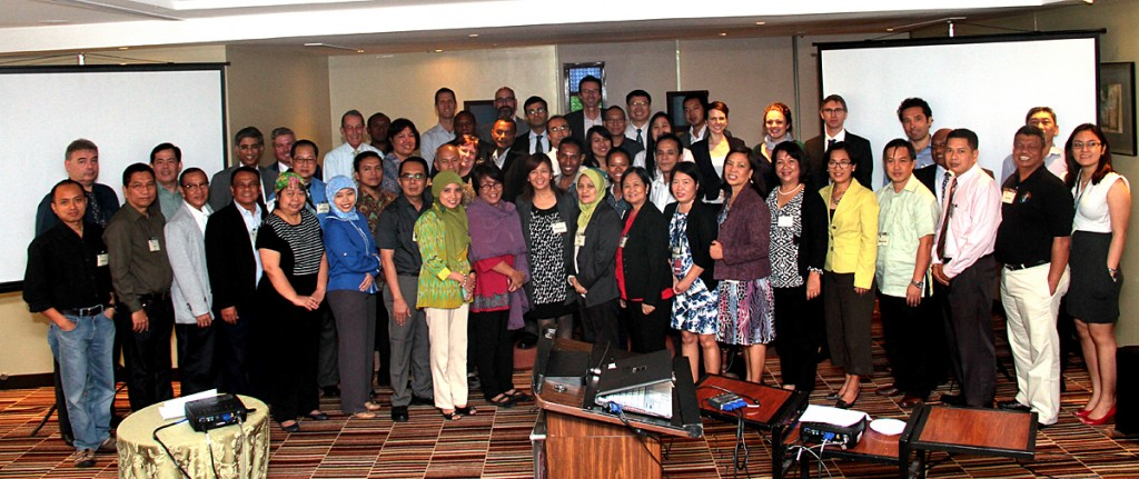 Participants of the CTI-CFF Meeting on Stock Take and Investment Coordination take time out for a group photo. (Photo by: CTKN)