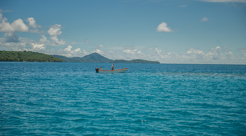 The deep blue waters of the Federated States of Micronesia. (Photo by Tomas Eric Sales/ADB)