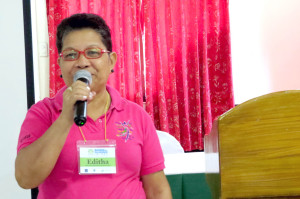 To more prolific science fairs. Department of Education Palawan Science Supervisor for Secondary Schools, Editha Torrente encourages the teachers to make investigatory projects and participate in the annual division science fair.