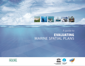 A Guide to Evaluating Marine Spatial Plans